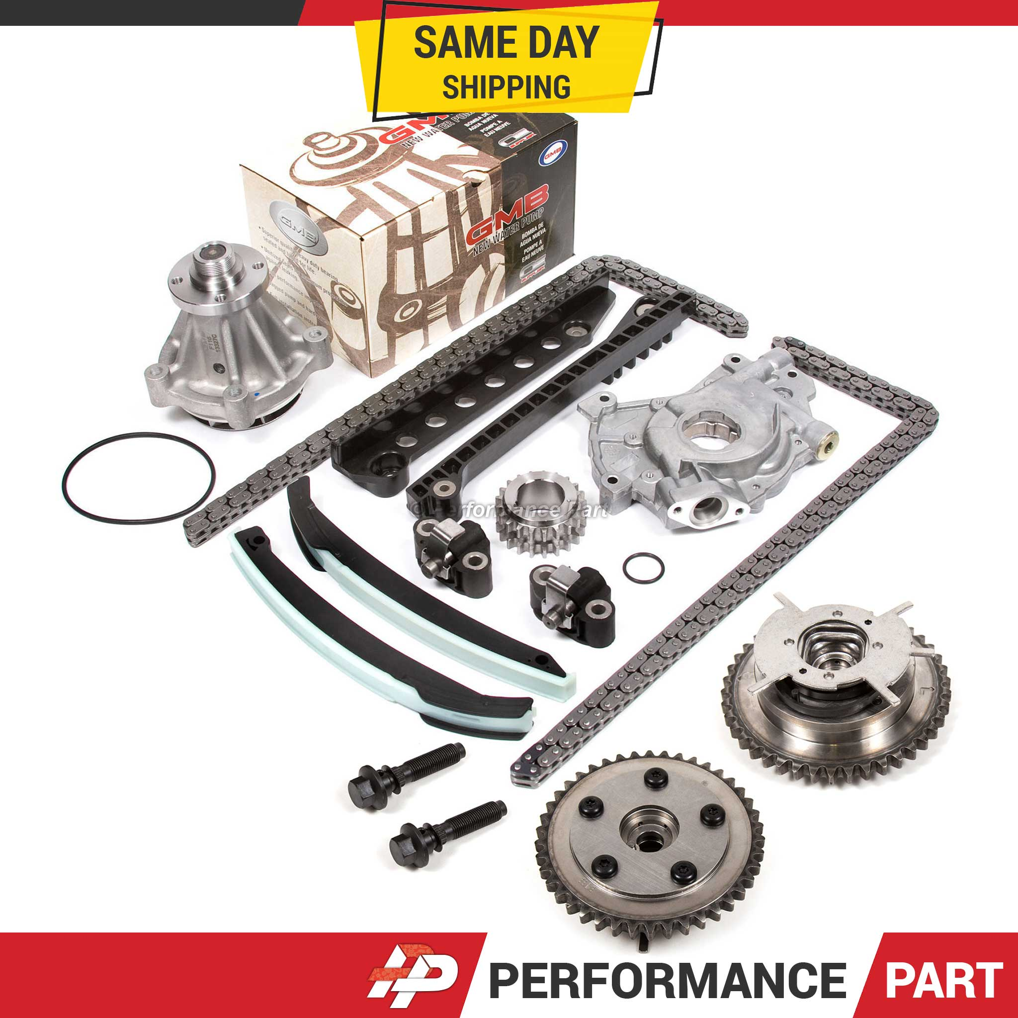 04-08 Ford Lincoln 5.4 TRITON 3-Valve Timing Chain Kit Cam
