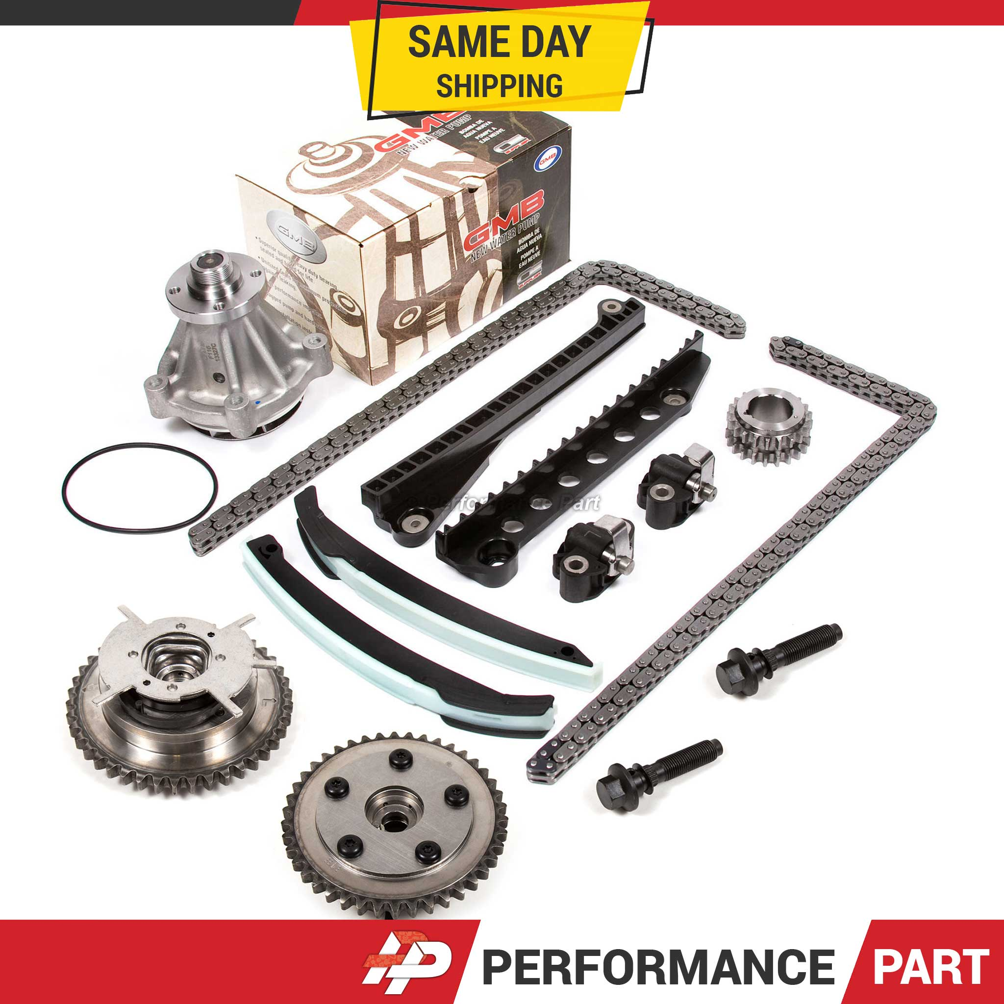 Ford 5.4L VVTi Camshaft Phaser, Timing Chain Kit, Updated